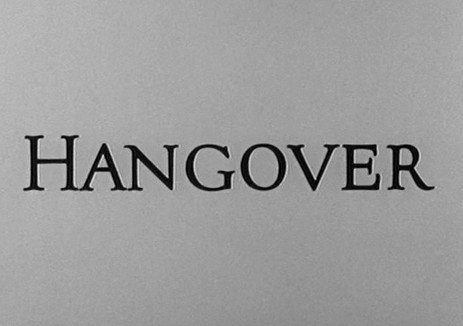 The Alfred Hitchcock Hour: Hangover