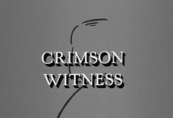 The Alfred Hitchcock Hour: Crimson Witness