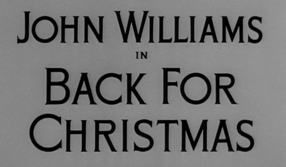 Alfred Hitchcock Presents: Back for Christmas