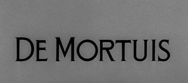 Alfred Hitchcock Presents: De Mortuis