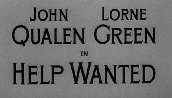 Alfred Hitchcock Presents: Help Wanted