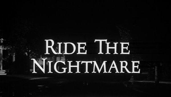 The Alfred Hitchcock Hour: Ride the Nightmare