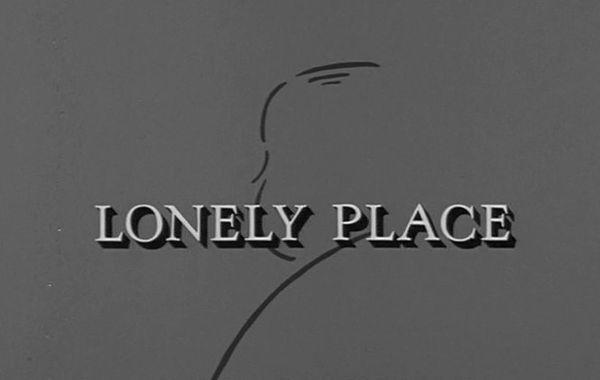 The Alfred Hitchcock Hour: Lonely Place