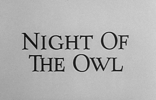 The Alfred Hitchcock Hour: Night of the Owl