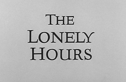 The Alfred Hitchcock Hour: The Lonely Hours