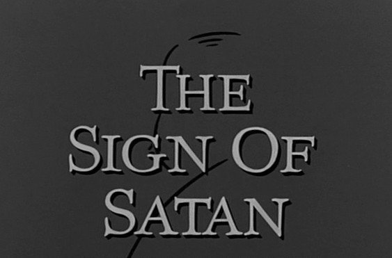 The Alfred Hitchcock Hour: The Sign of Satan