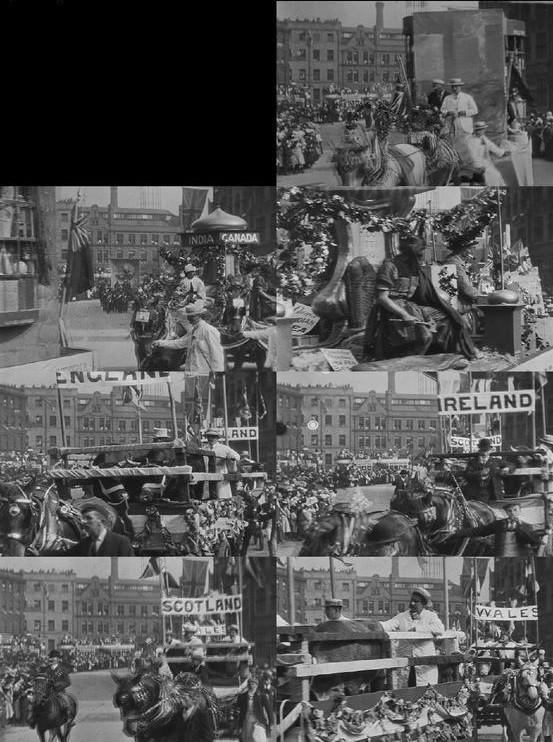 Bradford Coronation Procession